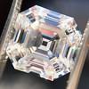 3.44ct Antique Asscher Cut Diamond GIA H VS2 3