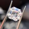 3.44ct Antique Asscher Cut Diamond GIA H VS2 20