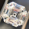 3.44ct Antique Asscher Cut Diamond GIA H VS2 14