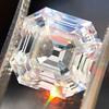 3.44ct Antique Asscher Cut Diamond GIA H VS2 0