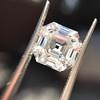 3.44ct Antique Asscher Cut Diamond GIA H VS2 19
