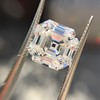 3.44ct Antique Asscher Cut Diamond GIA H VS2 22