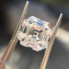 3.44ct Antique Asscher Cut Diamond GIA H VS2 21