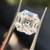 3.44ct Antique Asscher Cut Diamond GIA H VS2 17