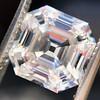 3.44ct Antique Asscher Cut Diamond GIA H VS2 5