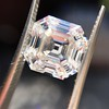 3.44ct Antique Asscher Cut Diamond GIA H VS2 6