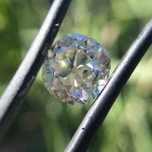 3.46ct Antique Cushion Cut Diamond ACC