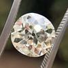 3.46ct Old European Cut Diamond GIA M, VS1 0