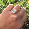 3.46ct Old European Cut Diamond GIA M, VS1 58