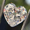 3.47ct Antique Heart Shaped Diamond GIA F SI2 15