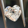 3.47ct Antique Heart Shaped Diamond GIA F SI2 23