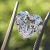 3.47ct Antique Heart Shaped Diamond GIA F SI2 12