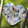 3.47ct Antique Heart Shaped Diamond GIA F SI2 2