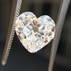 3.47ct Antique Heart Shaped Diamond GIA F SI2 21