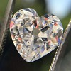 3.47ct Antique Heart Shaped Diamond GIA F SI2 17