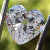 3.47ct Antique Heart Shaped Diamond GIA F SI2 10