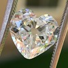 3.47ct Antique Heart Shaped Diamond GIA F SI2 3