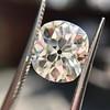 3.49ct Antique Cushion Cut Diamond 12