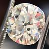 3.49ct Antique Cushion Cut Diamond 11