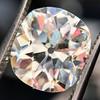 3.49ct Antique Cushion Cut Diamond 14