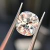 3.49ct Antique Cushion Cut Diamond 31