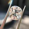 3.49ct Antique Cushion Cut Diamond 25