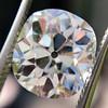 3.49ct Antique Cushion Cut Diamond 1