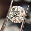 3.49ct Antique Cushion Cut Diamond 10