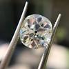 3.49ct Antique Cushion Cut Diamond 17
