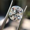 3.49ct Antique Cushion Cut Diamond 21