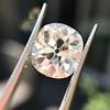 3.49ct Antique Cushion Cut Diamond 32