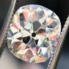 3.49ct Antique Cushion Cut Diamond 0
