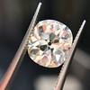 3.49ct Antique Cushion Cut Diamond 26