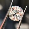 3.49ct Antique Cushion Cut Diamond 27