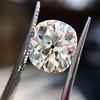 3.49ct Antique Cushion Cut Diamond 8