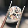 3.49ct Antique Cushion Cut Diamond 6