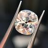 3.49ct Antique Cushion Cut Diamond 29