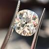 3.49ct Antique Cushion Cut Diamond 9
