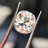 3.49ct Antique Cushion Cut Diamond 24