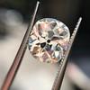 3.49ct Antique Cushion Cut Diamond 23