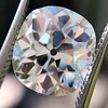 3.49ct Antique Cushion Cut Diamond 18