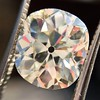 3.49ct Antique Cushion Cut Diamond 3