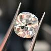 3.49ct Antique Cushion Cut Diamond 28