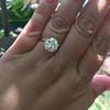 3.50ct Old European Cut Diamond, GIA J VS1 29