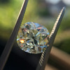 3.60ct Antique Cushion Cut S/T color, VS2 clarity 13