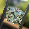 3.60ct Antique Cushion Cut S/T color, VS2 clarity 15