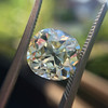 3.60ct Antique Cushion Cut S/T color, VS2 clarity 1