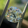 3.60ct Antique Cushion Cut S/T color, VS2 clarity 12