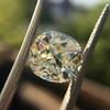 3.60ct Antique Cushion Cut S/T color, VS2 clarity 22
