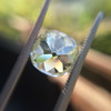 3.60ct Antique Cushion Cut S/T color, VS2 clarity 10